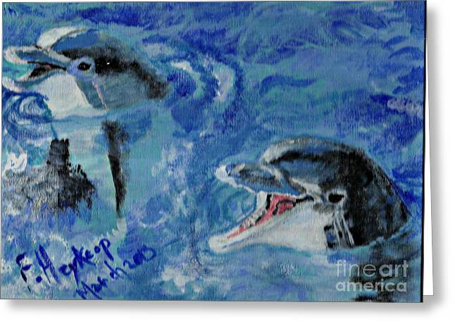 Dolphins Greeting Card