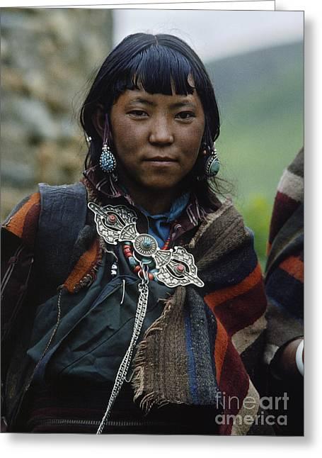 Dolpo Beauty - Do Tarap Valley Nepal Greeting Card by Craig Lovell