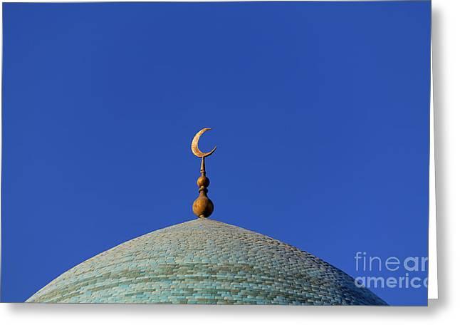 Dome At Bukhara In Uzbekistan Greeting Card by Robert Preston