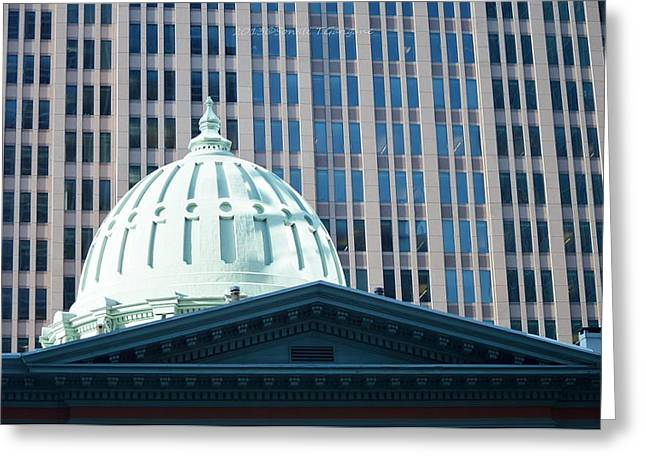 Dome Of Art Museum  Greeting Card