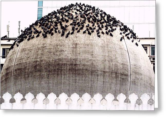 Dome Of The Mosque Greeting Card