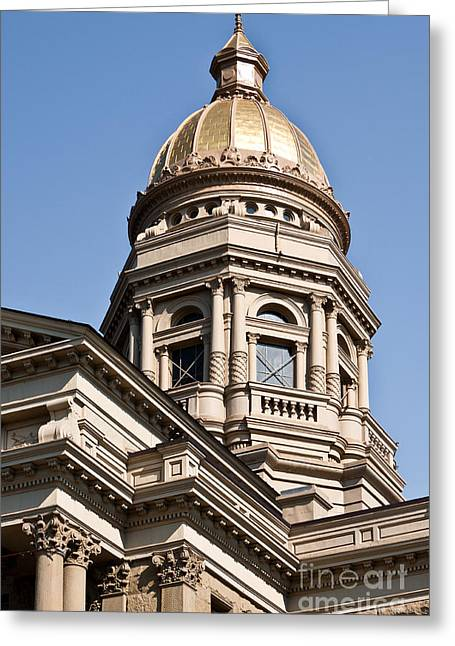 Dome On Capital Greeting Card