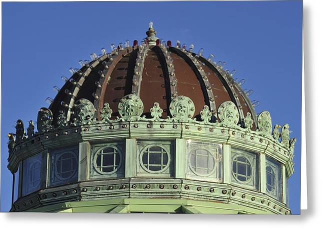 Dome Top Of Carousel House Asbury Park Nj Greeting Card