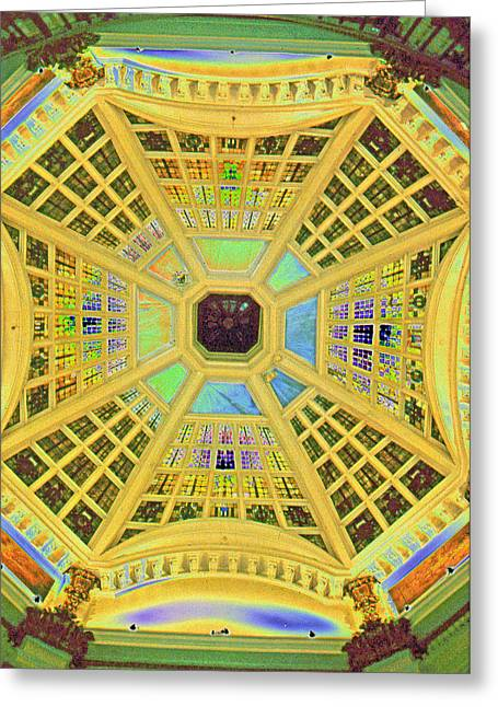 Domed Ceiling Greeting Card by Paul Price