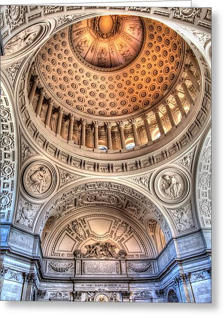 Domed Ornate Interior Greeting Card