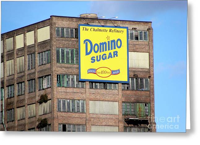 Domino Greeting Card by Ed Weidman