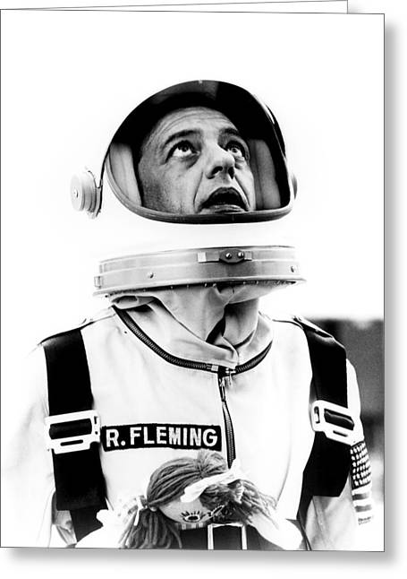 Don Knotts In The Reluctant Astronaut  Greeting Card