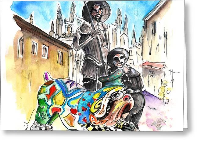 Don Quijotes New Pet Greeting Card