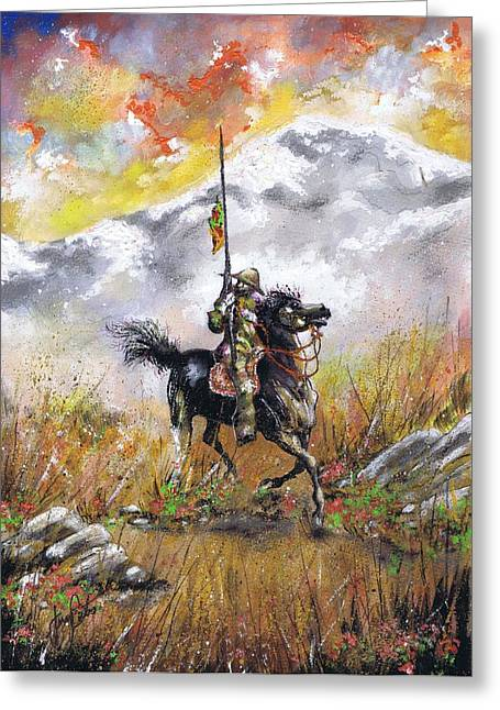 Don Quixote Of La Mancha Greeting Card