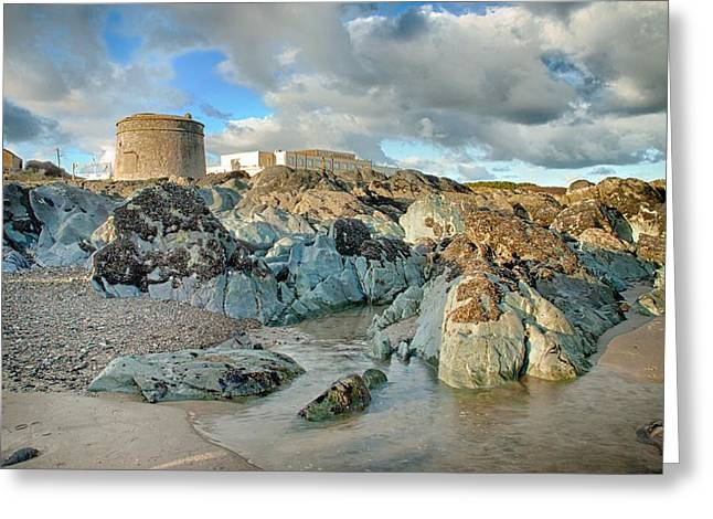 Donabate Martello Tower Greeting Card