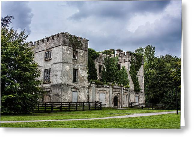 Donadea Castle Greeting Card by Semmick Photo