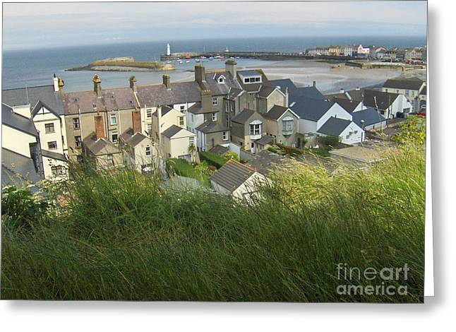 Donaghadee Northern Ireland View From The Moat Greeting Card