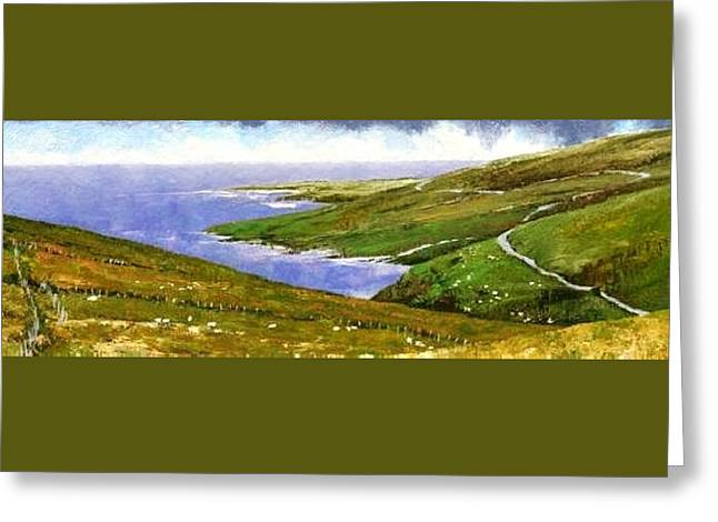 Donegal Coast Greeting Card
