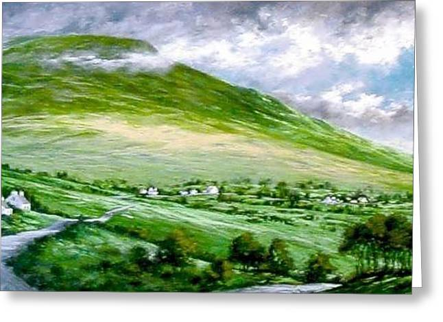 Donegal Hills Greeting Card
