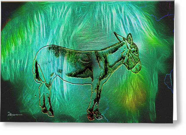Donkey-featured In Nature Photography Group Greeting Card by EricaMaxine  Price