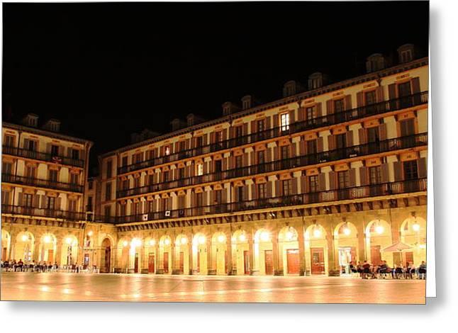 Greeting Card featuring the photograph Donostia San Sebastian  by Mariusz Czajkowski