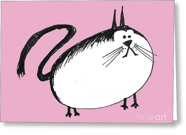 Donovan Cat Collection Greeting Card