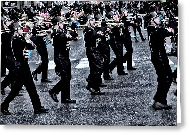 Don't Let The Parade Pass You By Greeting Card by Bill Cannon