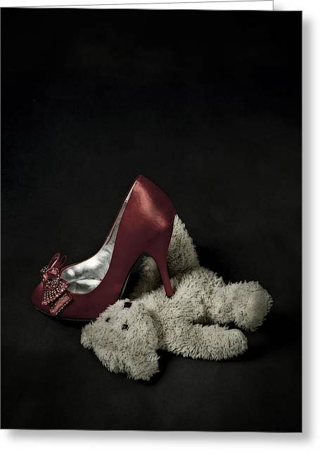 Don't Step On Me Greeting Card by Joana Kruse
