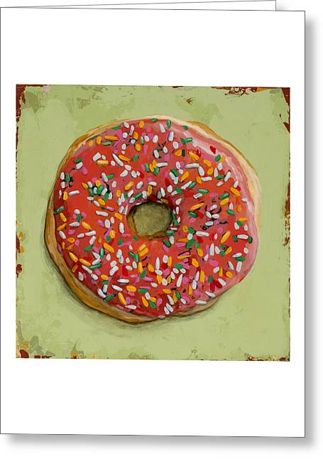 Donut #1 Greeting Card