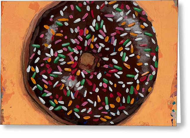 Donut #2 Greeting Card