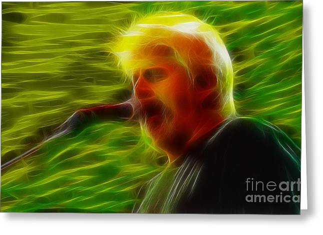 Doobies-95-michael-gc34-fractal Greeting Card by Gary Gingrich Galleries
