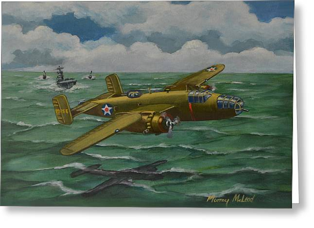 Doolittle Raider 2 Greeting Card by Murray McLeod