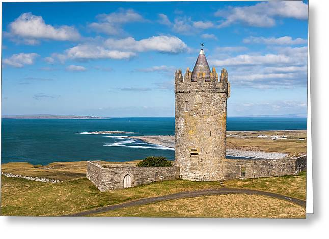Doonagore Round Tower Ireland Greeting Card by Pierre Leclerc Photography