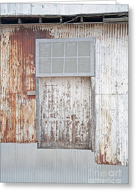 Greeting Card featuring the photograph Door 2 by Minnie Lippiatt