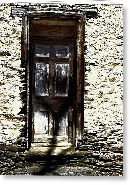 Door 3769 Greeting Card