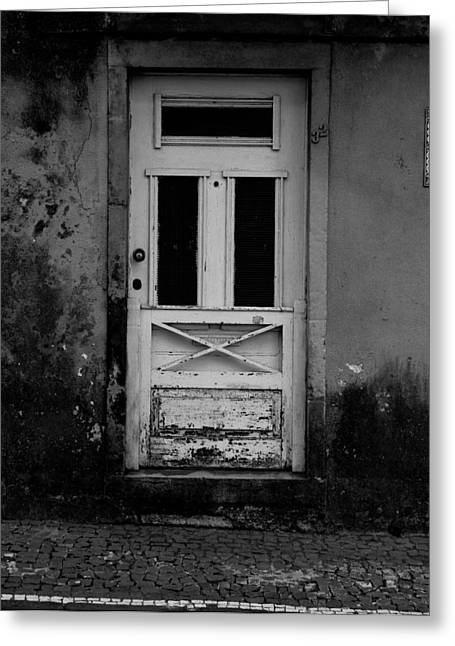 Door-8 Greeting Card