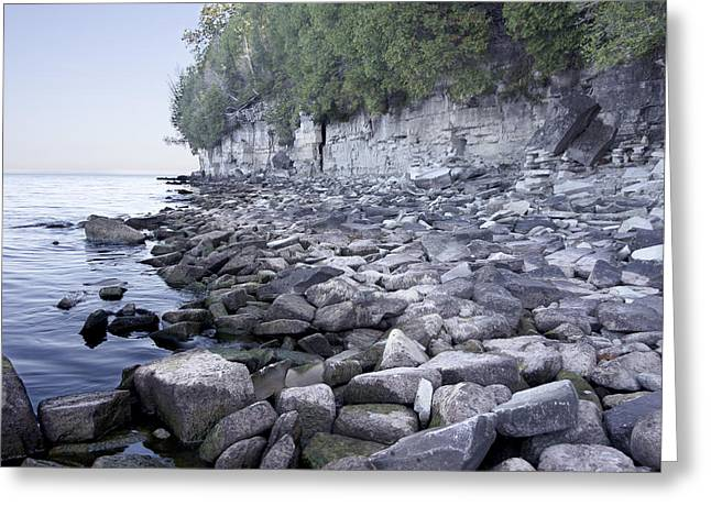 Door Bluff Headlands Cp Greeting Card by Jim Baker