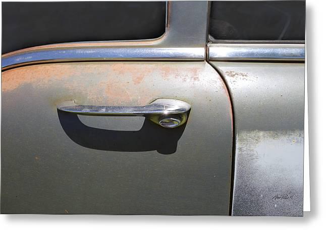 Door Handle Classic Car Photograph by Ann Powell