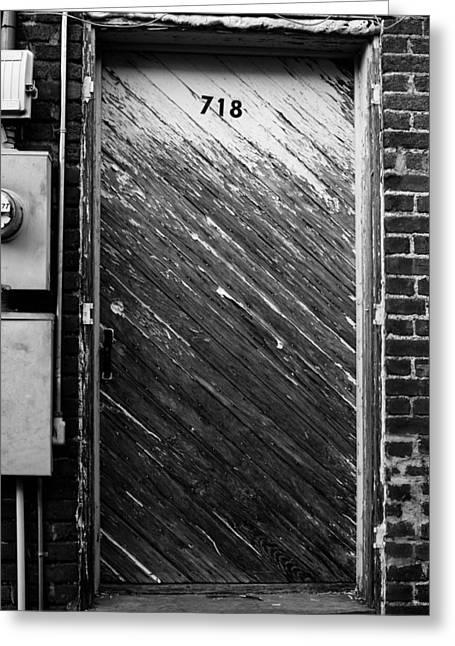 Door To 718 Greeting Card