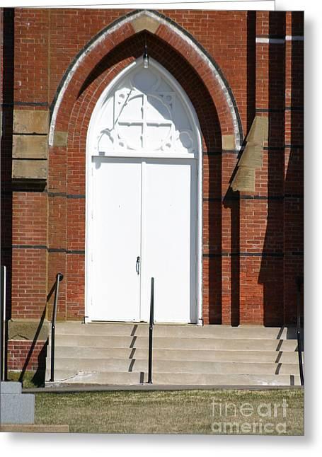 Door To Heaven Greeting Card