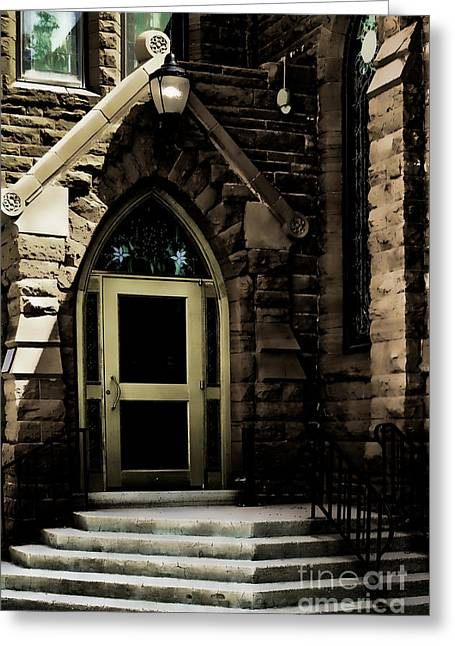 Door To Sanctuary Series Image 4 Of 4 Greeting Card