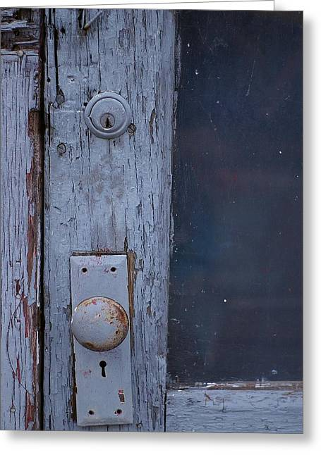Greeting Card featuring the photograph Door To The Past by Randy Pollard