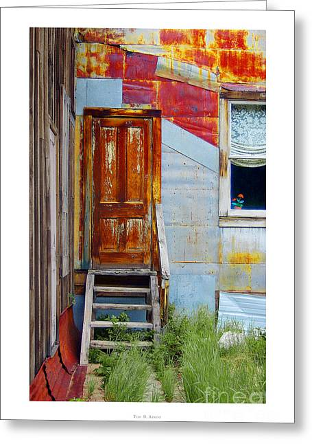 Door To The Past  St. Elmo Greeting Card