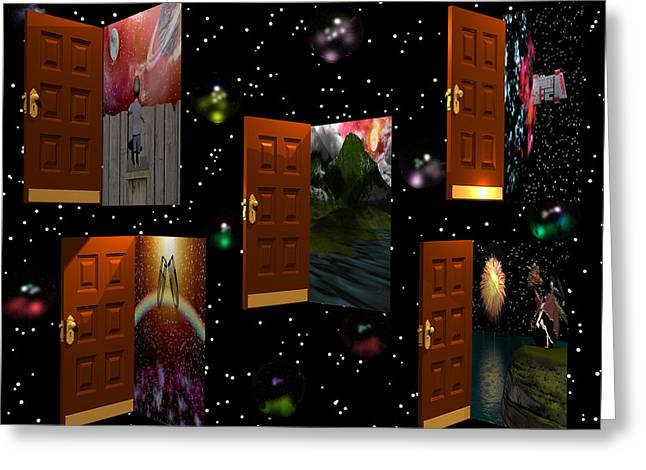 Door To Your Dreams Greeting Card