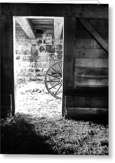 Doorway Through Time Greeting Card
