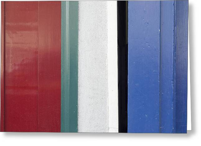 Doorframes Greeting Card by Stuart Hicks