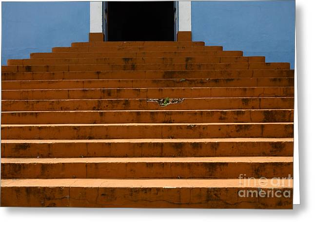 Doors And Doorways Minas Gerais State Brazil 14 Greeting Card by Bob Christopher