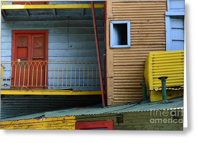Doors And Windows Buenos Aires 4 Greeting Card by Bob Christopher