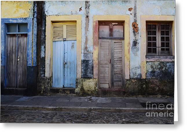 Doors Of Alcantara Brazil 1 Greeting Card