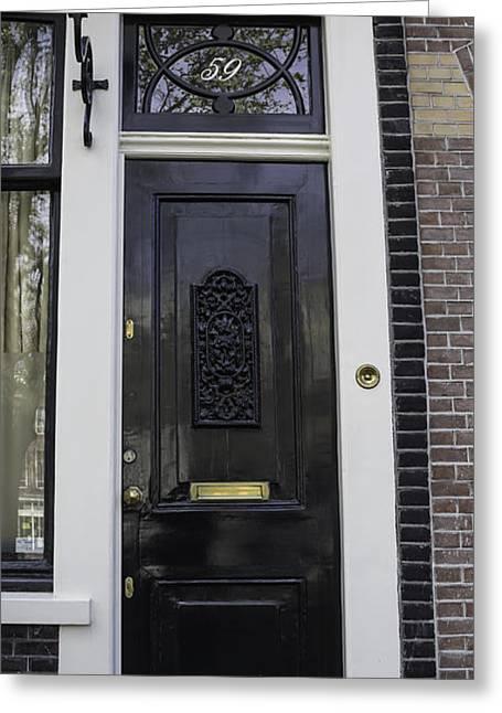 Doors Of Amsterdam 02 Greeting Card