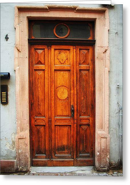 Doors Of Europe Greeting Card by Mountain Dreams