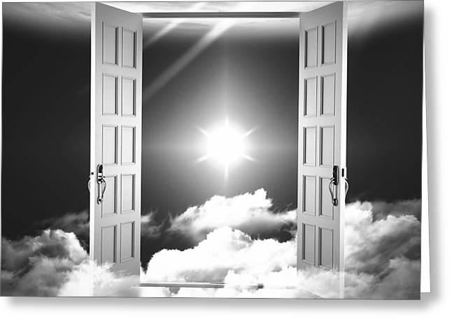 Doors To Paradise Greeting Card by Stefano Senise
