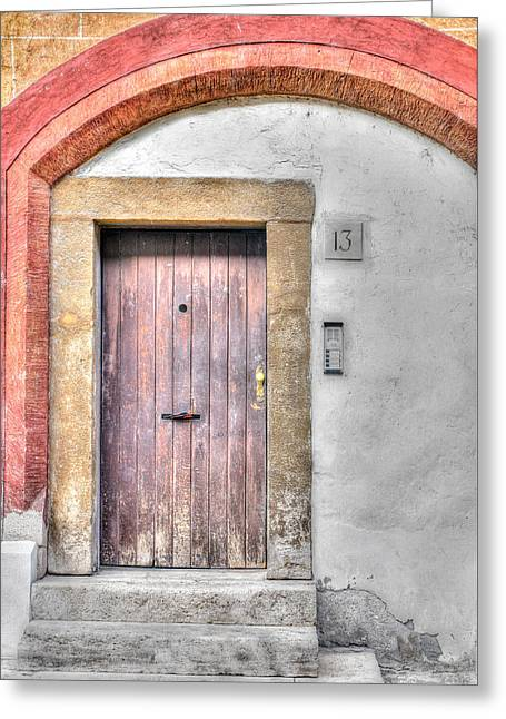 Doorway 13 Greeting Card
