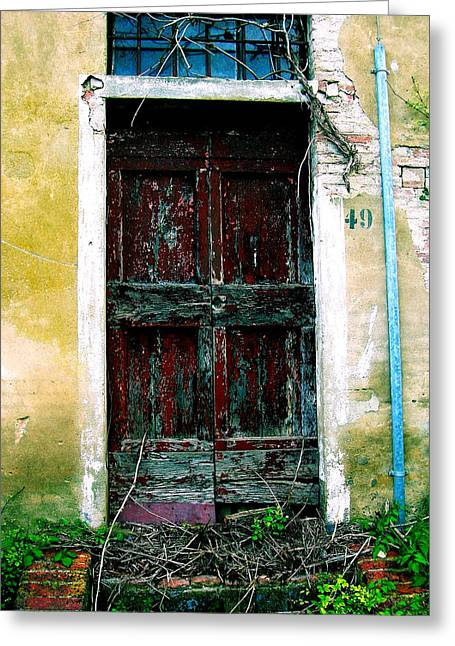 Doorway 49 Greeting Card