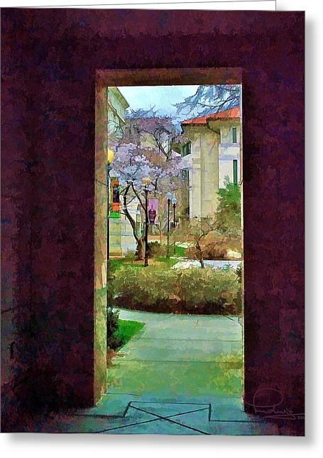 Doorway Greeting Card